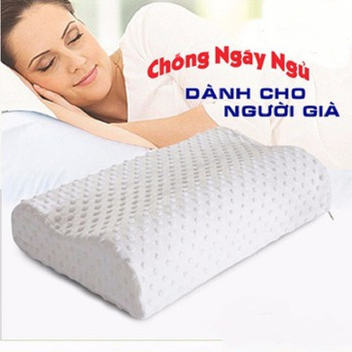 gối cao su non chống ngáy ngủ