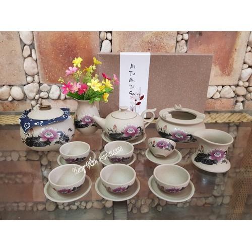 Set bộ trà Gốm tử sa