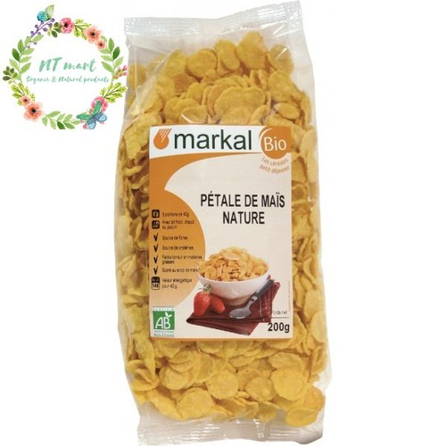 Ngũ cốc hữu cơ ngô cán dẹp Markal 200g