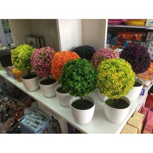 Hoa Cẩm Tú Cầu Nhựa 2c