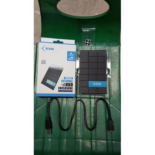 Box ổ cứng HDD SSK SHE080 SATA 3.0|Hộp đựng ổ cứng