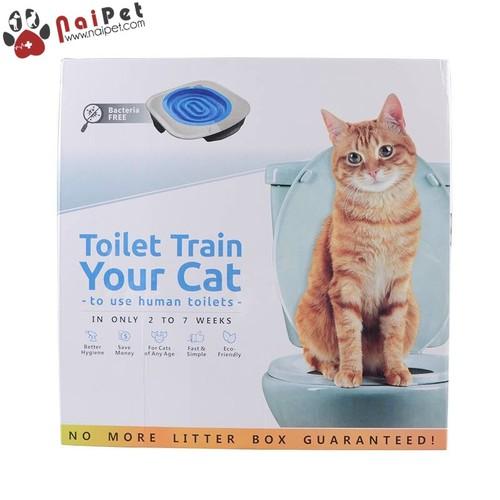 Bộ Huấn Luyện Mèo Dậy Mèo Đi Vệ Sinh Vào Bồn Cầu Toilet Train Cao Cấp - 10851968 , 11468481 , 15_11468481 , 256000 , Bo-Huan-Luyen-Meo-Day-Meo-Di-Ve-Sinh-Vao-Bon-Cau-Toilet-Train-Cao-Cap-15_11468481 , sendo.vn , Bộ Huấn Luyện Mèo Dậy Mèo Đi Vệ Sinh Vào Bồn Cầu Toilet Train Cao Cấp