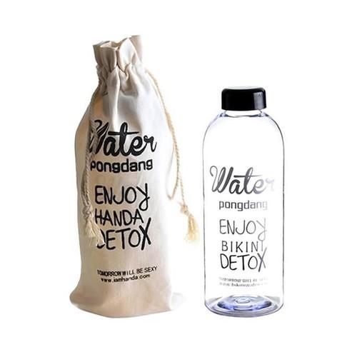 Bình nhựa Detox đựng nước 1L