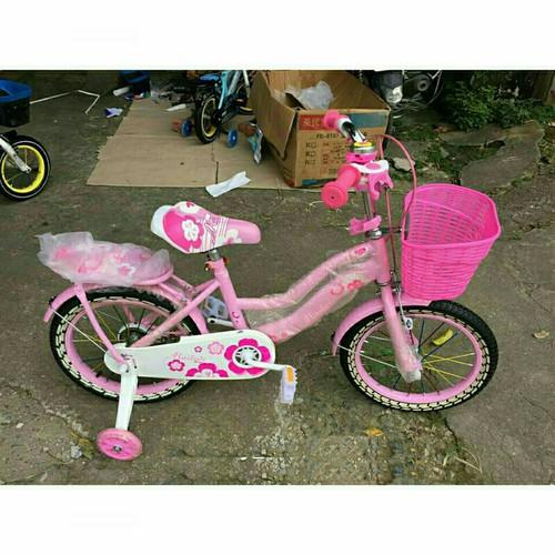 Xe đạp mini nữ mailedi cho bé gái bánh 18 cho bé 6 9t
