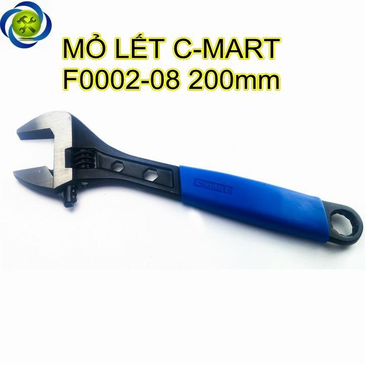Mỏ lết C-MART F0002-08 bọc nhựa 08 inch 200mm 1