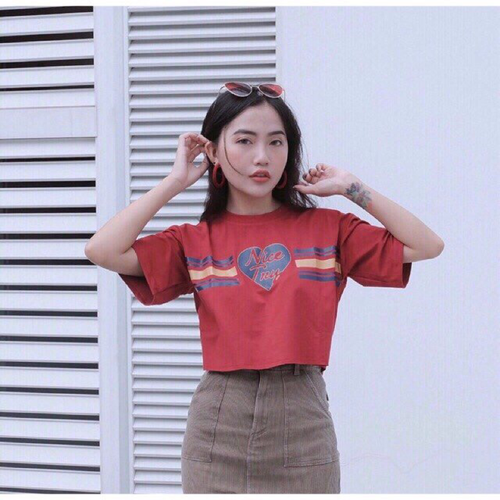 Áo Crop Top from rong nice Try