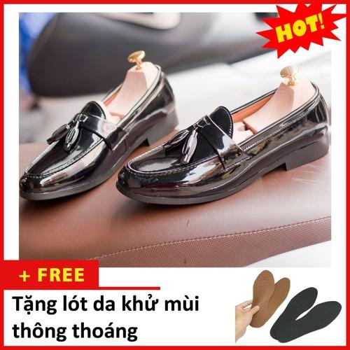 Giày lười nam - Giày lười nam chuông bóng M512-L