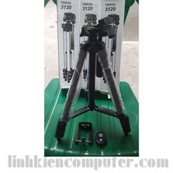 Bộ chân đỡ máy ảnh Tripod 3120 + đầu kẹp điện thoại + Remote