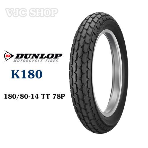 Lốp vỏ xe máy Dunlop K180 180.80-14 TT 78P - 10743954 , 10975129 , 15_10975129 , 2011000 , Lop-vo-xe-may-Dunlop-K180-180.80-14-TT-78P-15_10975129 , sendo.vn , Lốp vỏ xe máy Dunlop K180 180.80-14 TT 78P