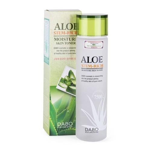 Nước hoa hồng dưỡng ẩm Dabo Aloe Stem-Rich Skin 150ml - 10743705 , 10974388 , 15_10974388 , 205000 , Nuoc-hoa-hong-duong-am-Dabo-Aloe-Stem-Rich-Skin-150ml-15_10974388 , sendo.vn , Nước hoa hồng dưỡng ẩm Dabo Aloe Stem-Rich Skin 150ml