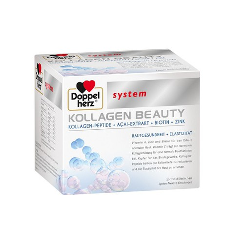 Collagen Dạng Nước Doppelherz System Kollagen Beauty