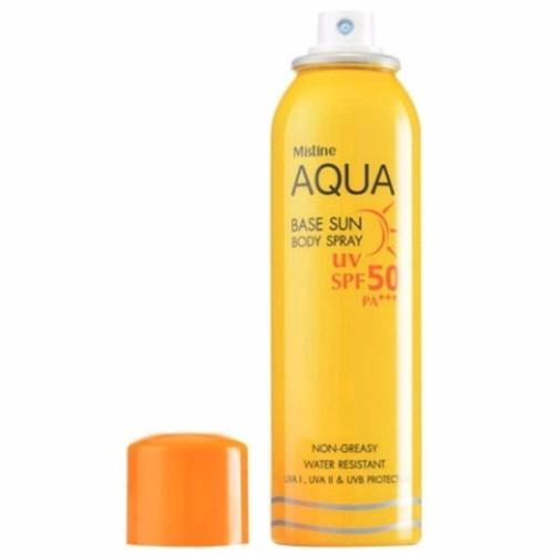Kem chống nắng dạng xịt Aqua Base Sun Body Spray Mistine - 10744892 , 10977629 , 15_10977629 , 285000 , Kem-chong-nang-dang-xit-Aqua-Base-Sun-Body-Spray-Mistine-15_10977629 , sendo.vn , Kem chống nắng dạng xịt Aqua Base Sun Body Spray Mistine