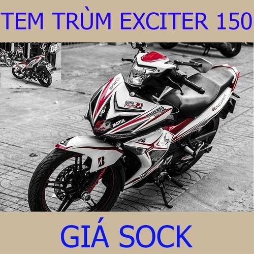 Tem Trùm Exciter 150 Tem Ex Trắng Đỏ Uma Racing - 7872168 , 10987232 , 15_10987232 , 350000 , Tem-Trum-Exciter-150-Tem-Ex-Trang-Do-Uma-Racing-15_10987232 , sendo.vn , Tem Trùm Exciter 150 Tem Ex Trắng Đỏ Uma Racing