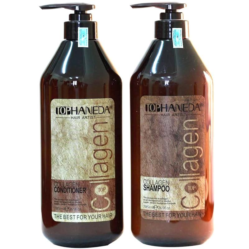 Dầu xả Haneda Collagen cho tóc hư tổn nặng 2