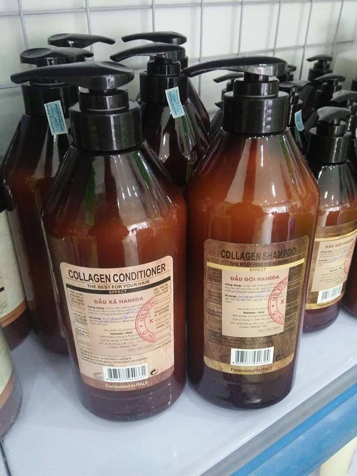Dầu xả Haneda Collagen cho tóc hư tổn nặng 1