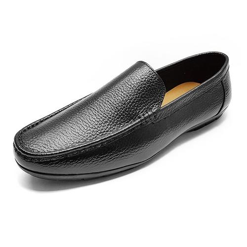 Giày Lười Nam Da Bò Thật Siêu Mềm Ensado GM29S