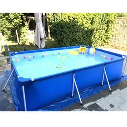 Bể Bơi Khung Kim Loại Lắp Ghép - 2.6M x 1.7M x 0.61M - Bestway 56403