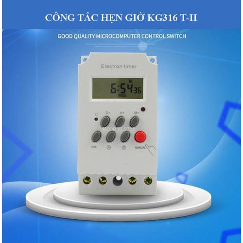 Bộ công tắc hẹn giờ KG316 T-II công suất 25A-AC220V