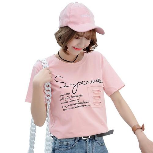 áo thun nữ kiểu rẻ đẹp màu hồng