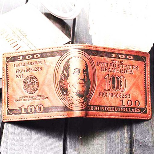 ví đựng tiền hình 100USD