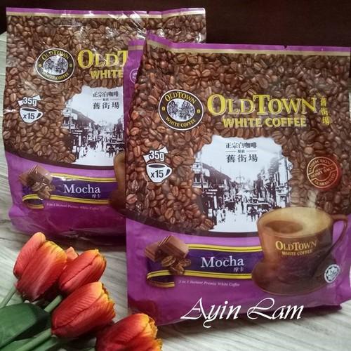 Cà phê trắng MoCha OldTown White Coffee Malaysia