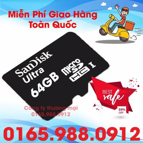thẻ nhớ 64Gb - bảo hành chính hãng 1 năm