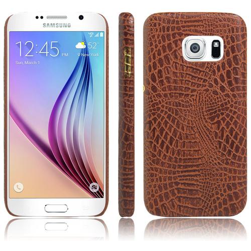 Ốp lưng Galaxy S7, S7 Edge vân da cá sấu cao cấp