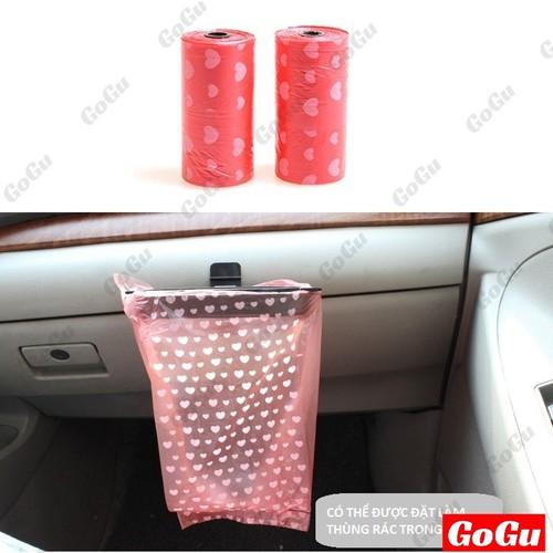 Kẹp đựng túi rác ô tô NHỰA ABS siêu bền, tiện dụng - GOGU