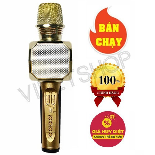 Míc hất karaoke kèm Loa Bluetooth SD-10