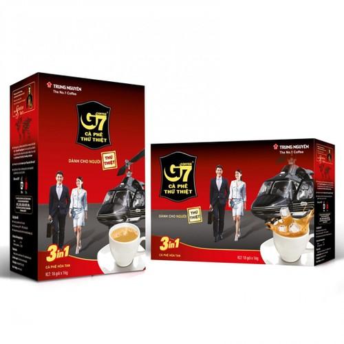Cà phê Trung Nguyên G7 3in1 18 gói x 16g - 7000369 , 13744731 , 15_13744731 , 70000 , Ca-phe-Trung-Nguyen-G7-3in1-18-goi-x-16g-15_13744731 , sendo.vn , Cà phê Trung Nguyên G7 3in1 18 gói x 16g