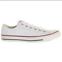 giày Nam sneaker classic trắng viền  đỏ
