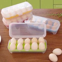 Combo 2 Hộp đựng trứng 10 quả chống sốc