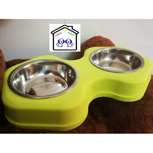 Bát đôi ăn,uống thú cưng - LuLu PetShop - 28cm