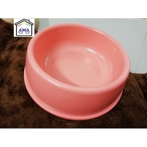 Bát nhựa ăn - uống thú cưng - LuLu PetShop -18cm