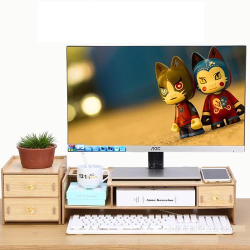 Kệ gỗ màn hình- Kệ gỗ màn hình có ngăn tủ phụ - 10754013 , 11023235 , 15_11023235 , 480000 , Ke-go-man-hinh-Ke-go-man-hinh-co-ngan-tu-phu-15_11023235 , sendo.vn , Kệ gỗ màn hình- Kệ gỗ màn hình có ngăn tủ phụ