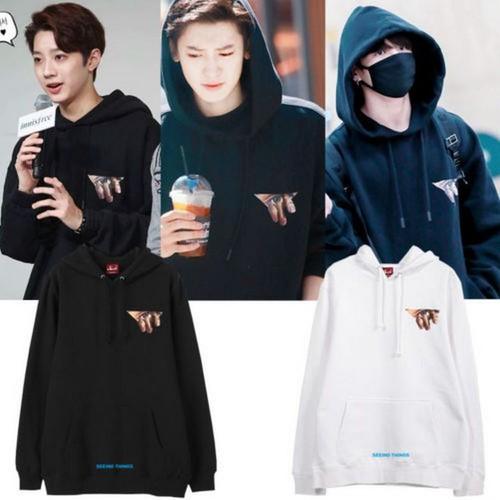 Áo hoodie BTS  Jungkook-EXO Chanyeol-Wanna One Lai Kwan Lin