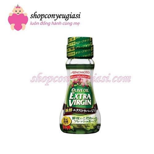 Dầu ăn Olive Extra Virgin Ajinomoto Nhật Bản chai 70g - 4469832 , 11024053 , 15_11024053 , 65000 , Dau-an-Olive-Extra-Virgin-Ajinomoto-Nhat-Ban-chai-70g-15_11024053 , sendo.vn , Dầu ăn Olive Extra Virgin Ajinomoto Nhật Bản chai 70g