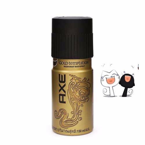Xịt khử mùi Axe Gold Temptation 150 ml
