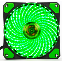 Fan Case 12cm Coolman 33 Led Green