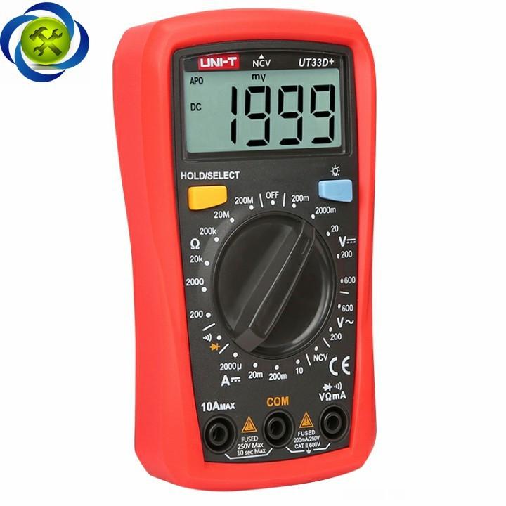 Đồng hồ đo điện UNI-T UT33D+ 4