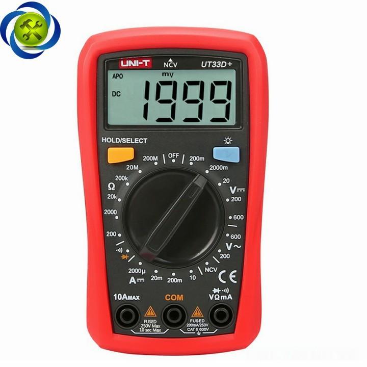 Đồng hồ đo điện UNI-T UT33D+ 6