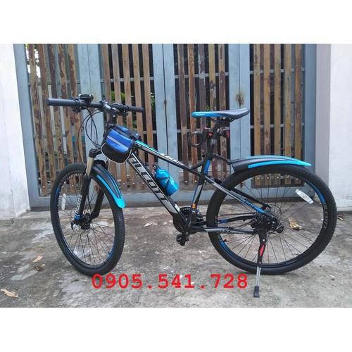xe đạp địa hình Alcott 580-XC màu xanh dương đen FREESHIP