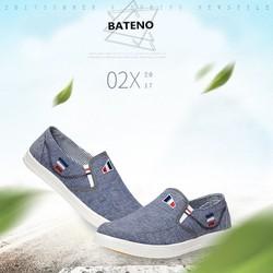 Giày lười vải nam HQ1