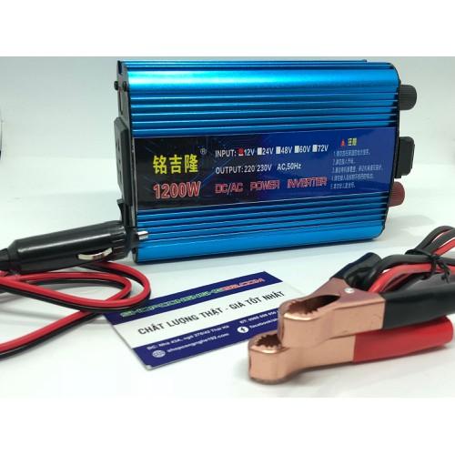 bộ chuyển đổi điện 12v lên 220v 1200w loại tốt