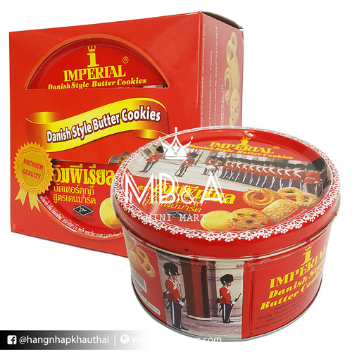 Bánh quy Imperial Danish Style Butter Cookies - Thái Lan - 200g
