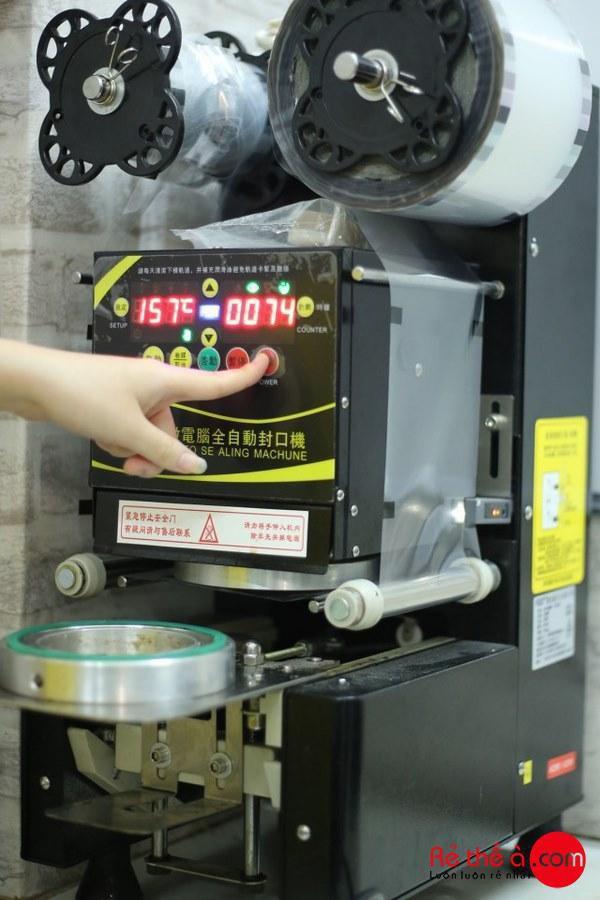 Máy dập cốc trà sữa tự động Fest RC95 - ảnh 1