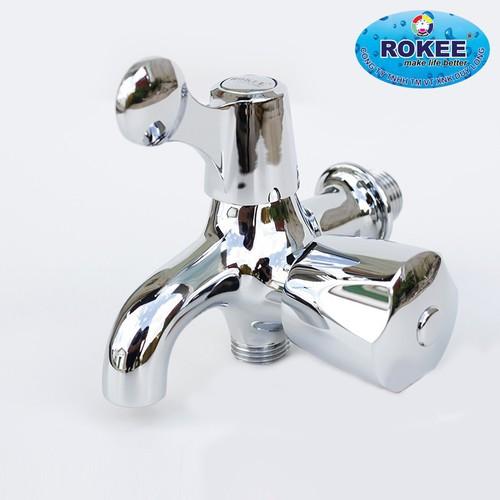Bộ vòi sen và vòi lavabo tiện dụng nhà tắm Rokee DL-987