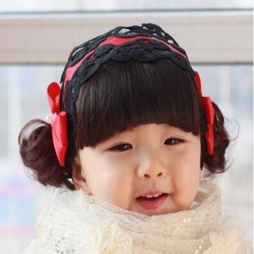 Băng đô tóc giả cho bé gái