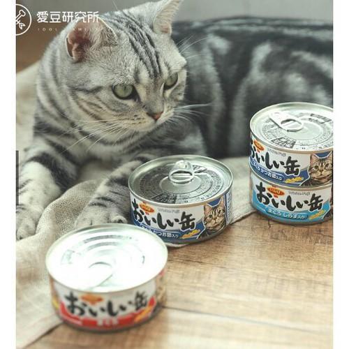 Thức Ăn Dinh Dưỡng Cho Mèo Pate Vị Cá Bào Cá Ngừ Cá Mòi Inaba hộp 155g