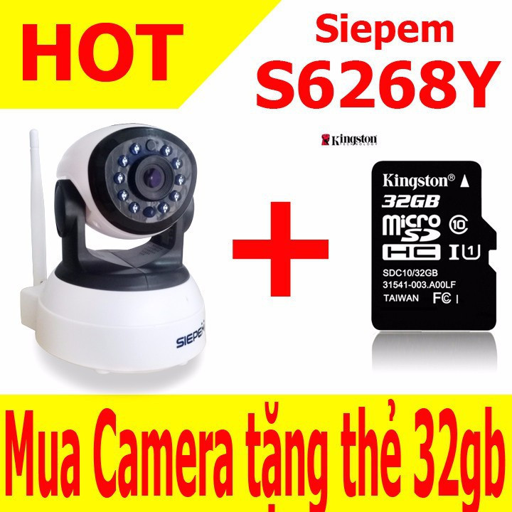 Camera ip wifi Siepem 6268Y 1